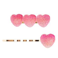 GRADIENT STAR CANDY HAIR CLIP (2PCS)