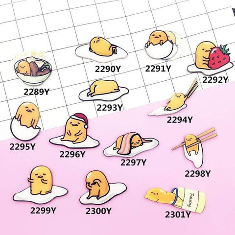 LAZY EGG PINS (SET/13PCS)