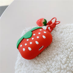 KAWAII STRAWBERRY AIRPODS CASE