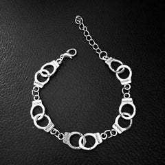 HANDCUFFS NECKLACE AND BRACELET