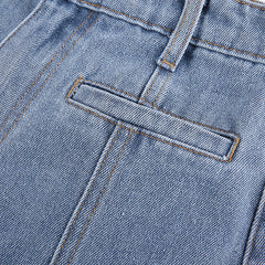BACK FIVE-POINTED STAR JEANS
