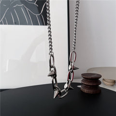 RIVET HIP HOP NECKLACE