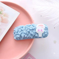 KAWAII LAMB HAIR CLIP (9 PCS)