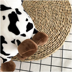 CARTOON COW PLUSH BAG