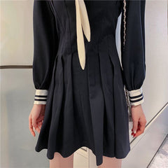 LOLITA NAVY COLLAR SAILOR DRESS