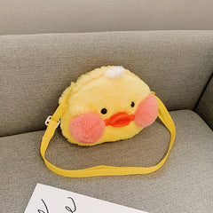 LITTLE YELLOW DUCK PLUSH BAG