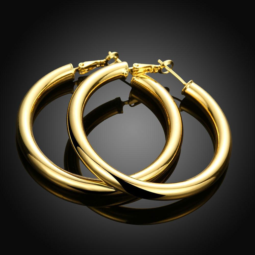 2020 New Fashion hot selling round earrings  Large Hoop Earrings Big Smooth party for Women Jewelry