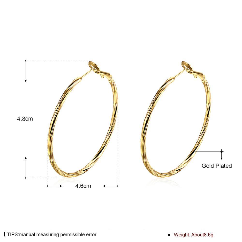 2020 new ladies fashion jewelry round tin alloy earrings party anniversary gift ladies earrings