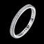 Simple Style Elegant Temperament Ring Inlaid Zircon Cost-effective Silver Plated Rings For Women Girl Jewelry