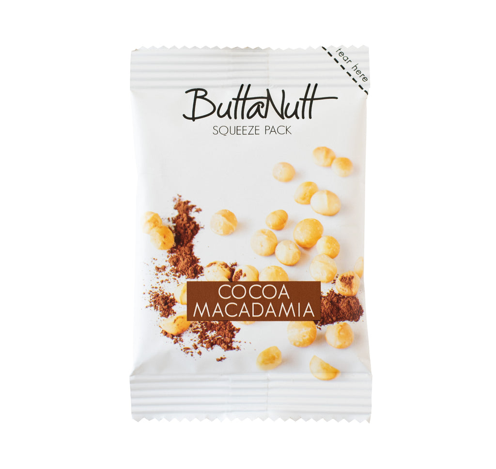 Cocoa Macadamia Squeeze Pack (32g)