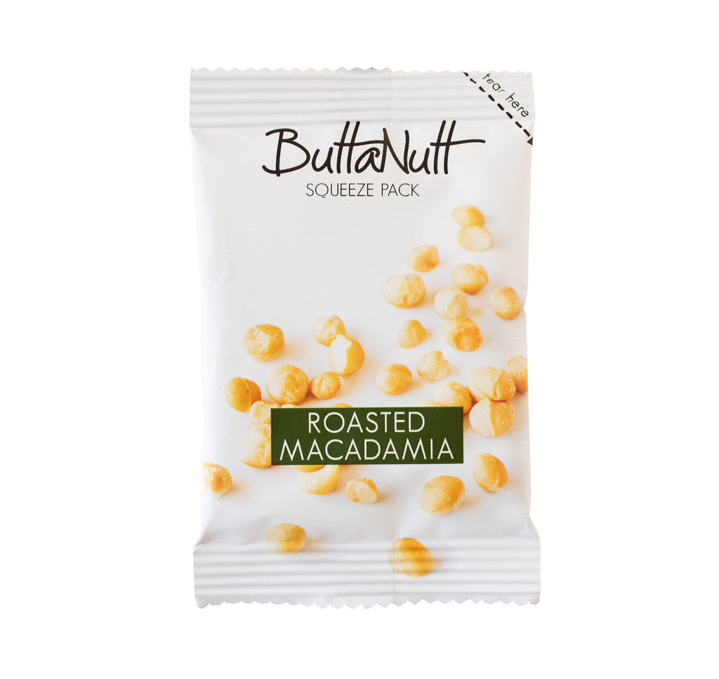 Roasted Macadamia Squeeze Pack (32g)