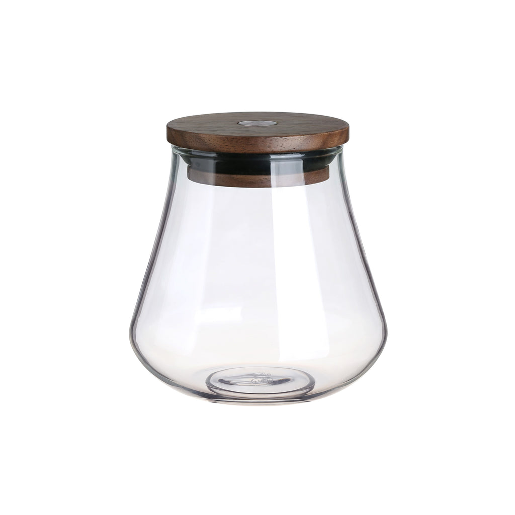 Clear Glass Jar-Classic Glass Tea Jar 400ml