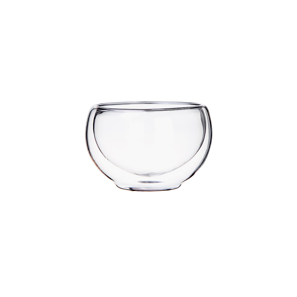 Double Wall Heat Resistant glass Small Kung Fu Tea Cup 00