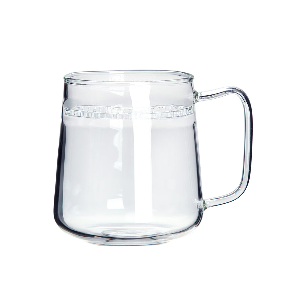 clear glass tea mug-lune filter mug 05