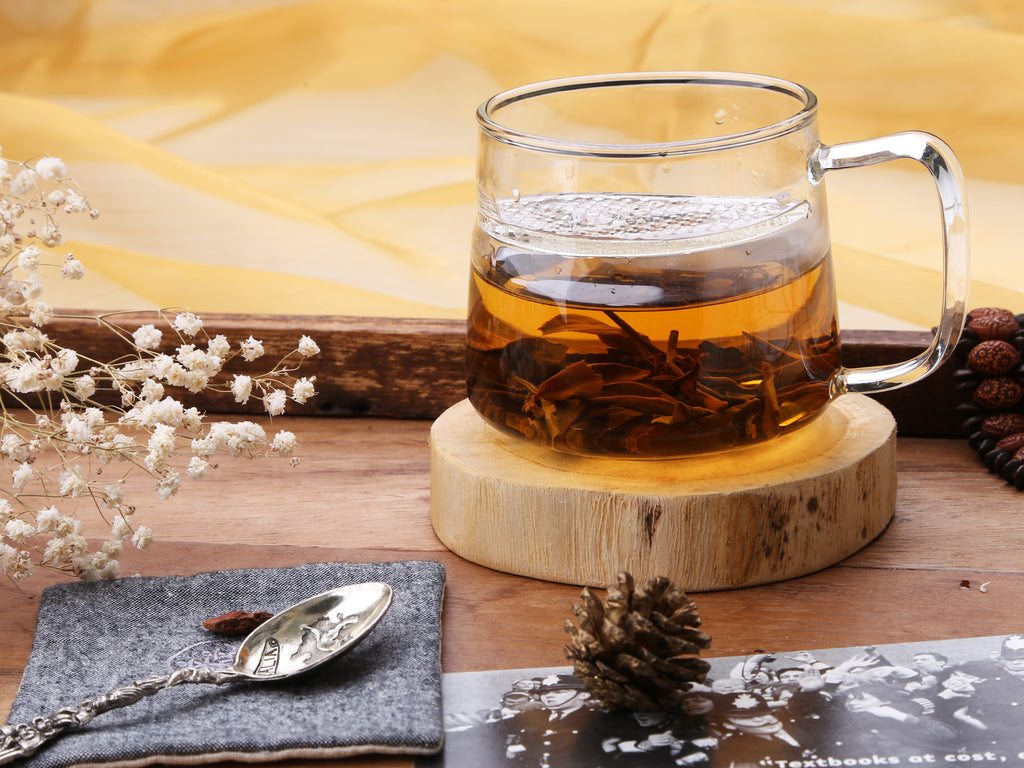 clear glass tea mug-lune filter mug 04