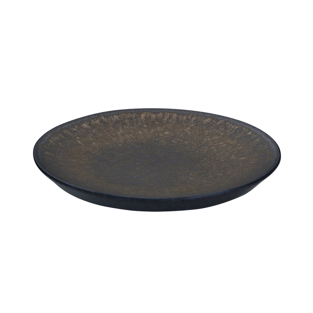 Ceramic Plate-Iron Glaze Retro tableware 06