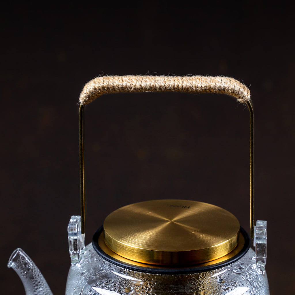 luxury glass teapot-Aurura Tea Infuser Teapot 02