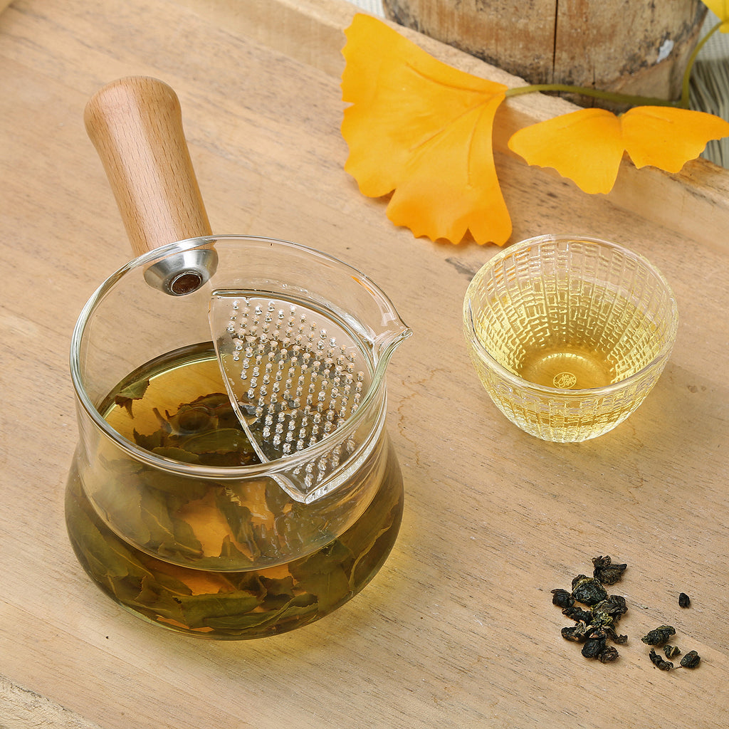 making herbal tea tool-Simple Glass Filter Pitcher 11oz 01