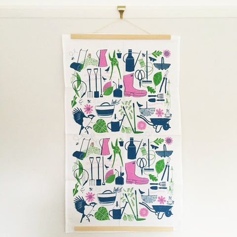 A Gardeners' World tea towel - Inspired