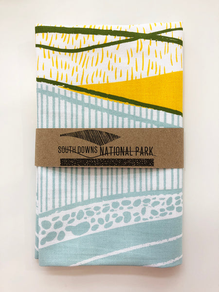 South Downs National Park tea towel - Inspired