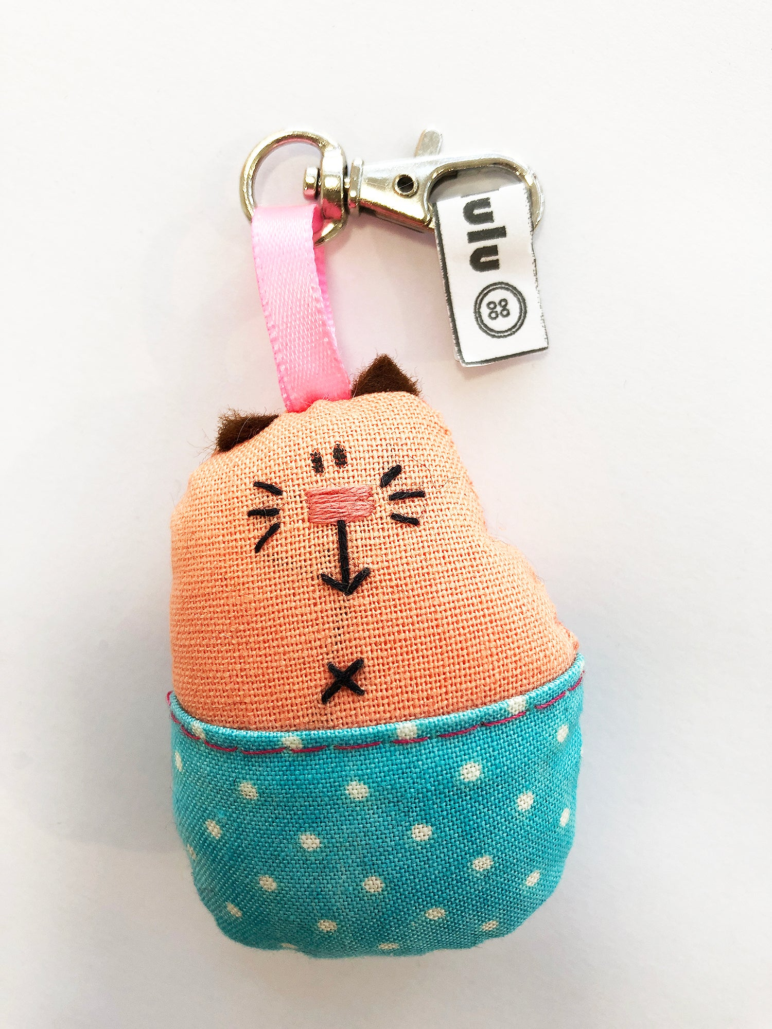 Pants Gang cat keyring