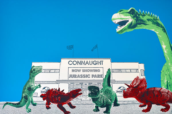 The Connaught Crowd print