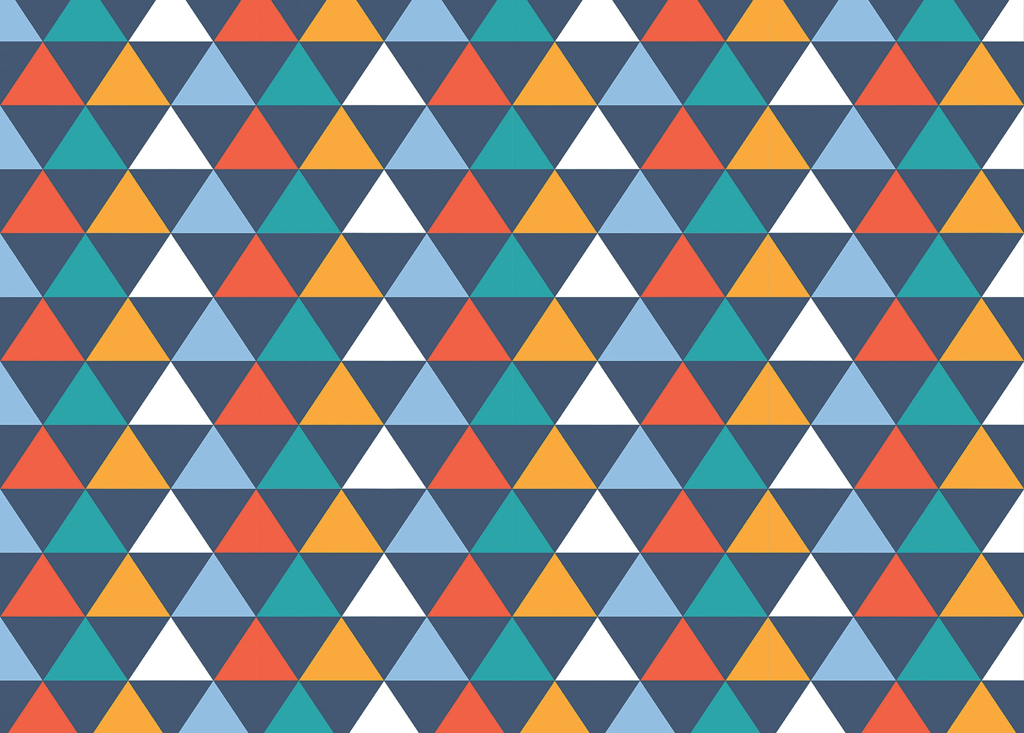 Triangle wrapping paper - Inspired