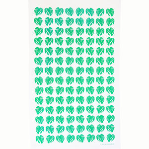 Green Cheese Plant Leaf Tea Towel - Inspired