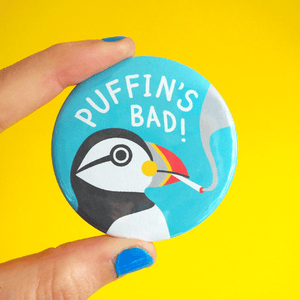 Puffin's Bad badge
