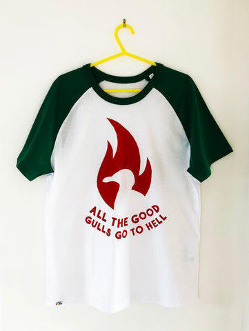 All The Good Gulls Go To Hell t-shirt
