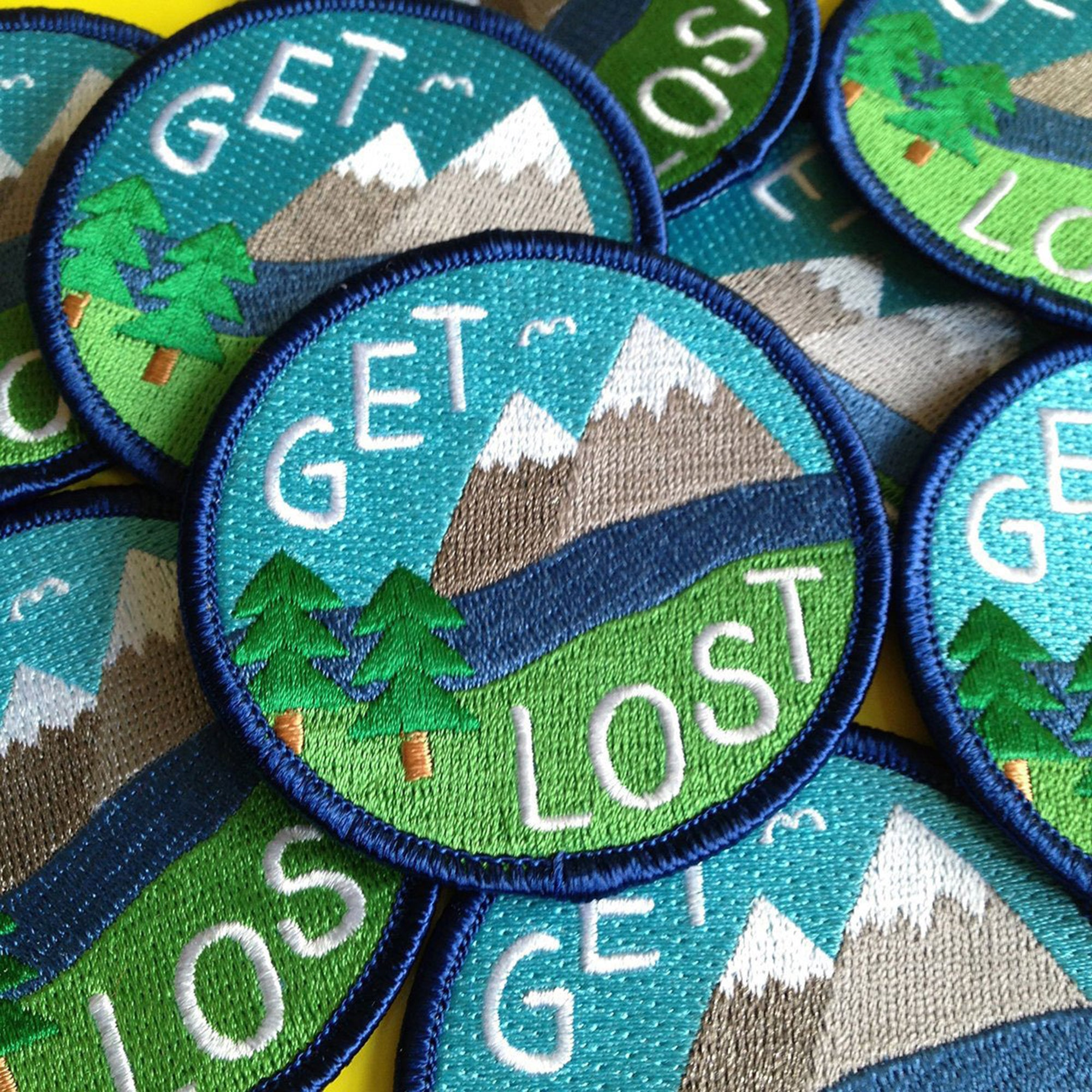Get lost patch - Inspired