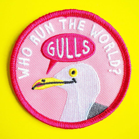 Who Run the World patch - Inspired