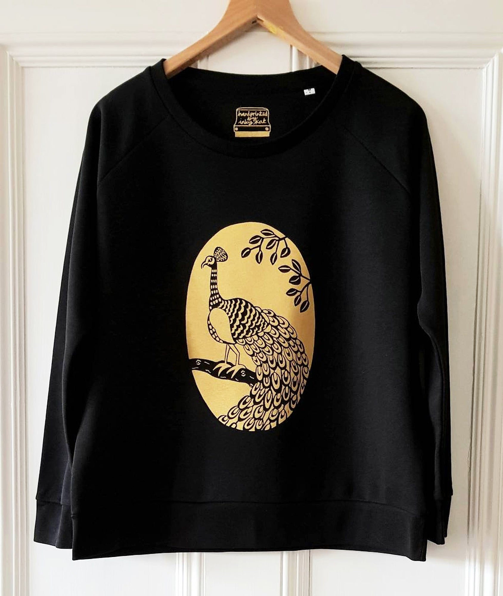Peacock ladies sweatshirt