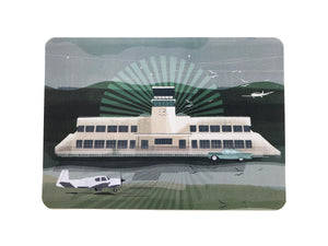 Shoreham Airport postcard - Inspired