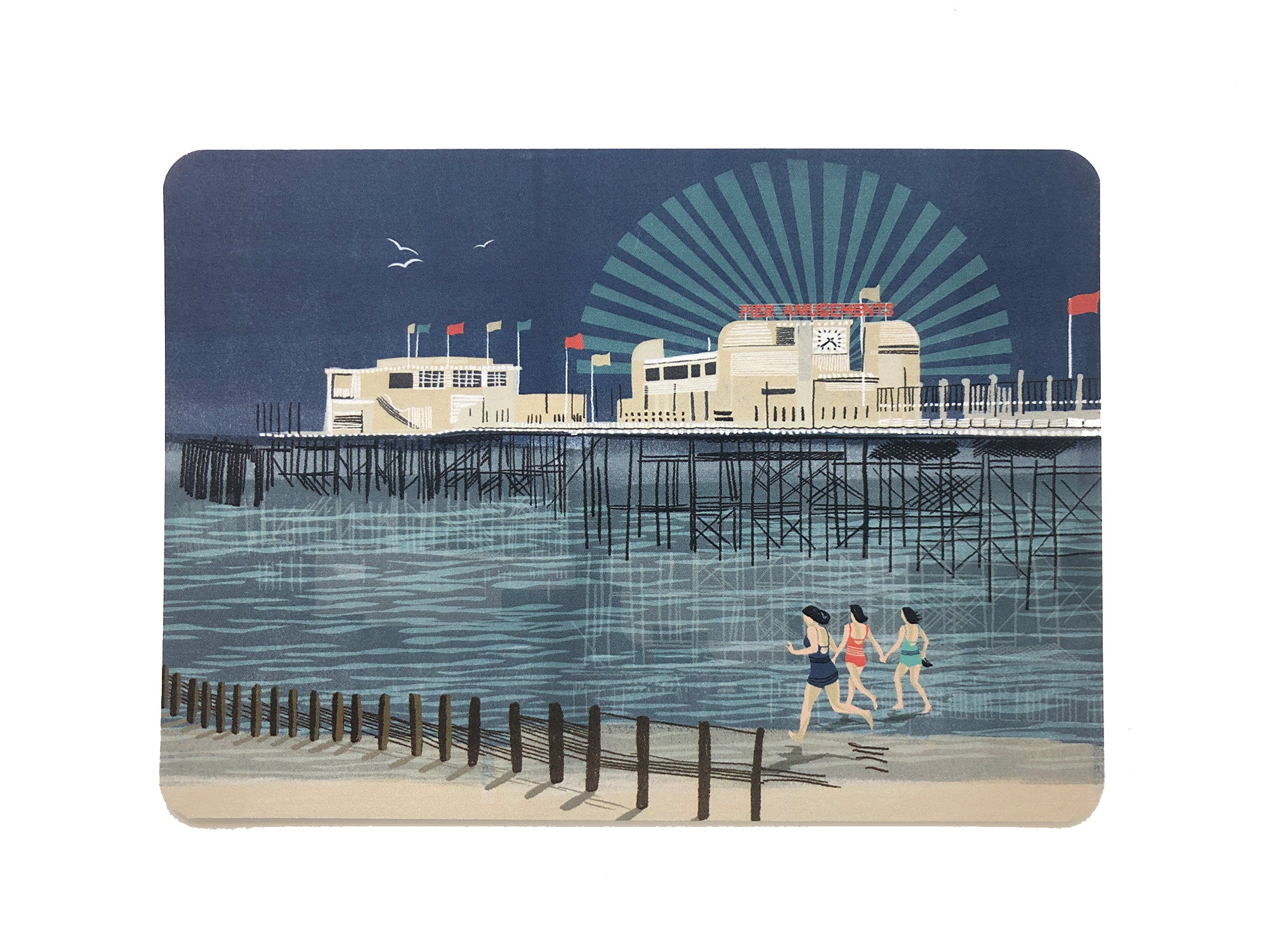 Worthing Pier postcard - Inspired