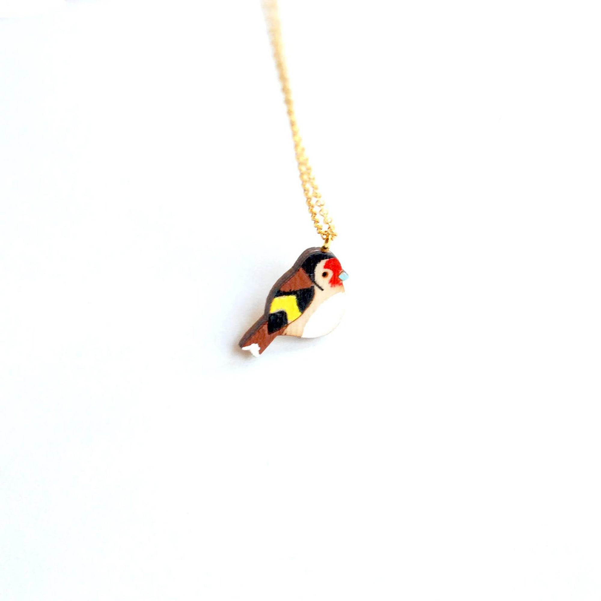 Goldfinch necklace - Inspired