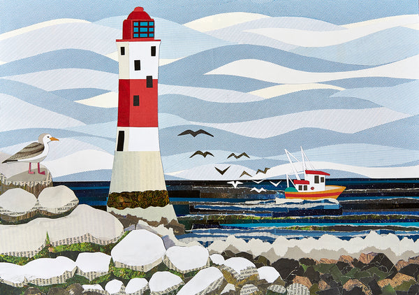 Beachy Head Lighthouse greetings card