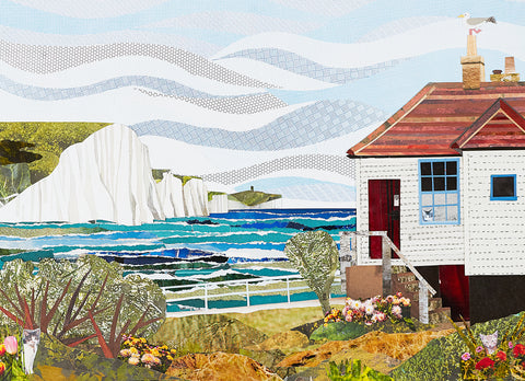 Coastguard Cottage print