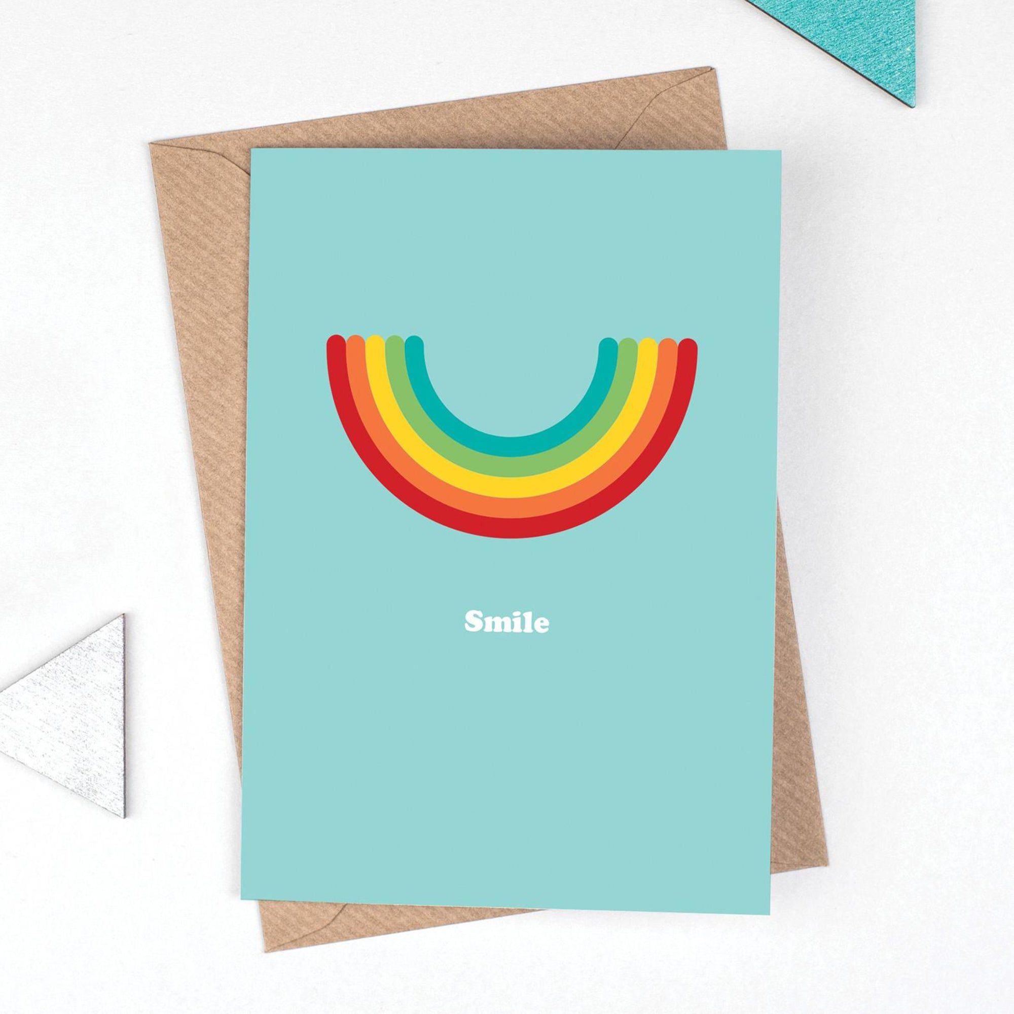Smile greetings card - Inspired