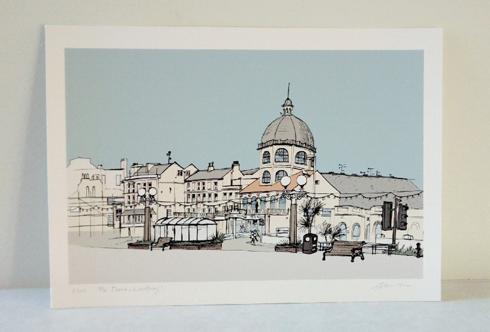 Worthing Dome print