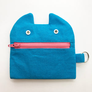Blue Monster coin purse