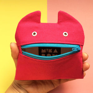 Zip monster coin purse