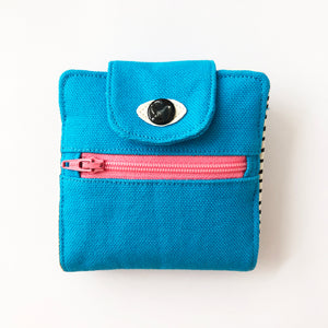 Blue Cyclops wallet