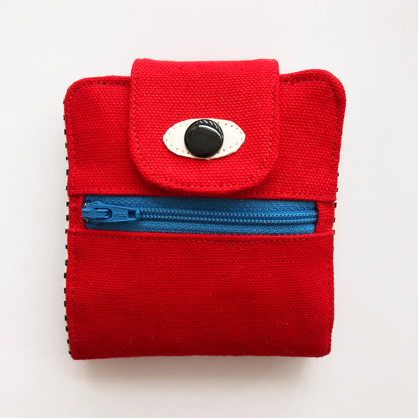 Red Cyclops wallet