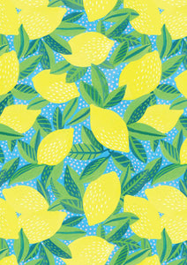 Limone wrapping paper - Inspired