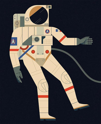 Astronaut card