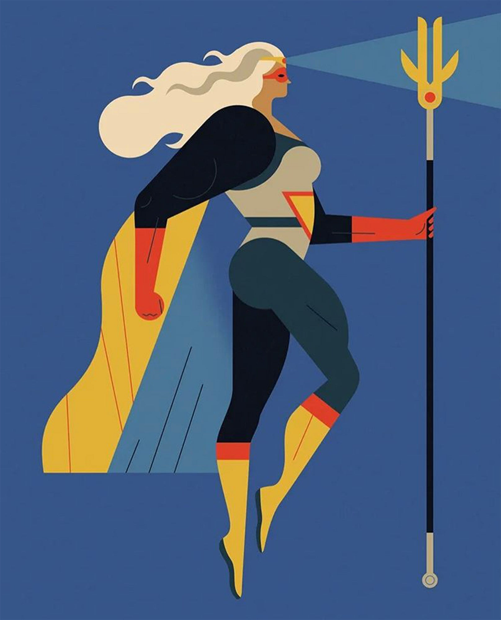 Superwoman card