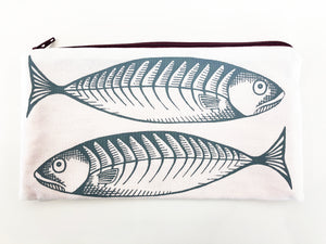 Mackerel white pouch