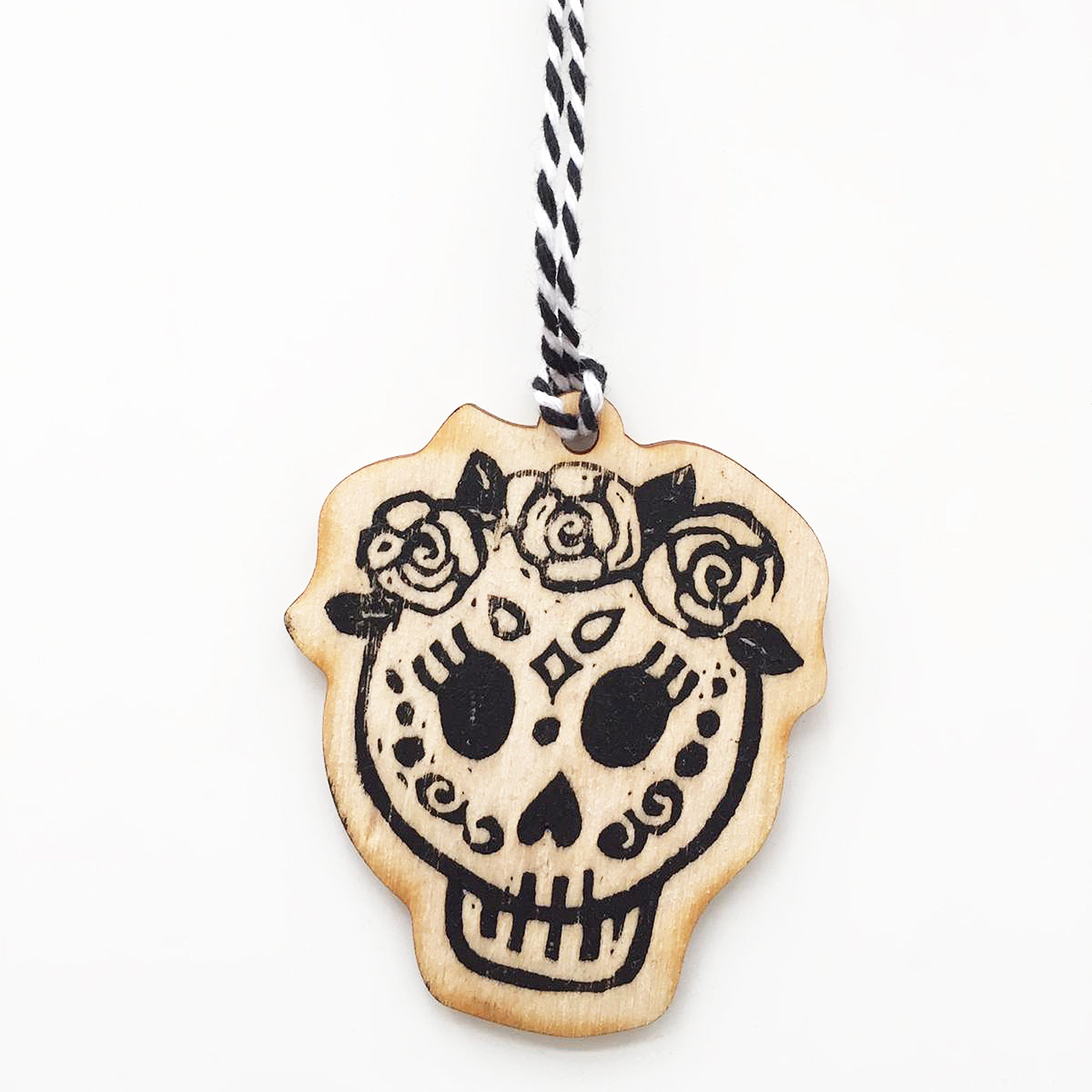 Day of the Dead Skull Christmas decoration - Female