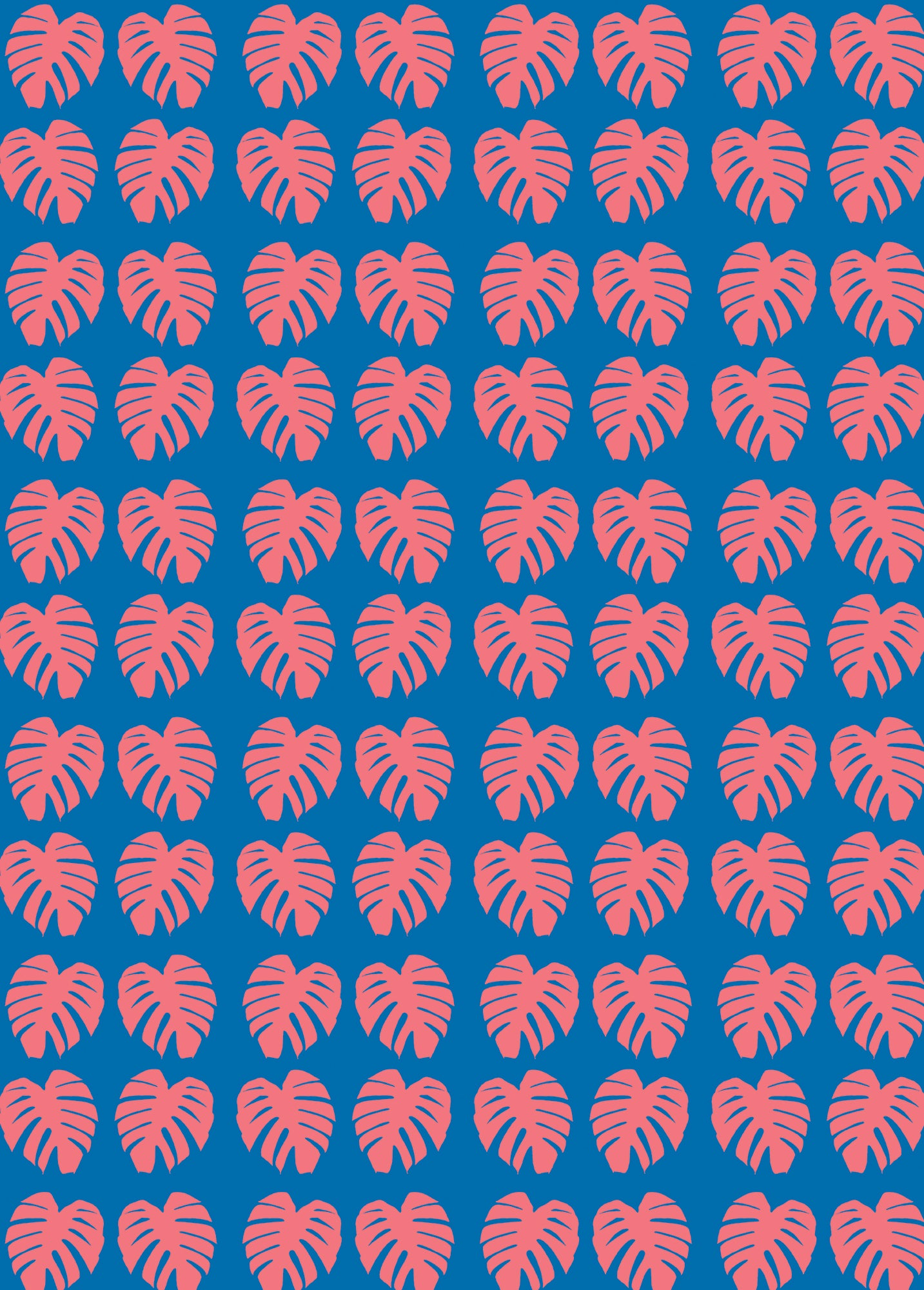 Monstera leaf wrapping paper - Inspired